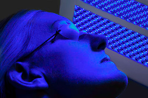 LED Therapy Blue Treatment